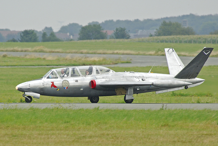 fouga magister jet fighter ride